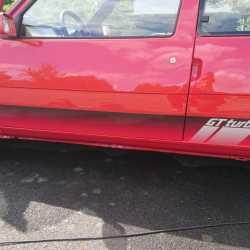 Autocollant GT Turbo phase 2