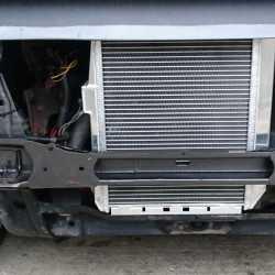Installation radiateur eau aluminium