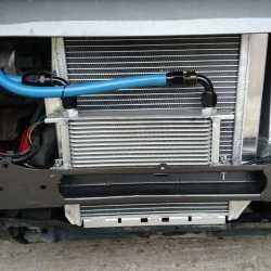Installation radiateur huile déporté