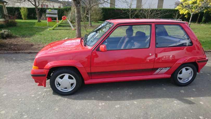 Vente du GT Turbo Rouge 719 16000€
